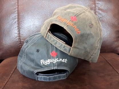 Oil Skin Fishing Hats - Black & Brown