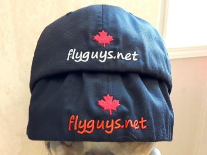 flyguys.net Fishing Hats Flexfits Back