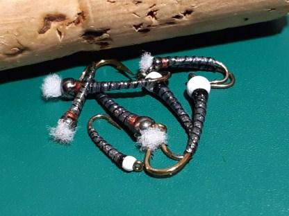 ASB Chironomid Pupa Flies - Black Rib
