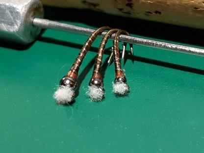 BORaC Chironomid Pupa Fly - Copper Rib