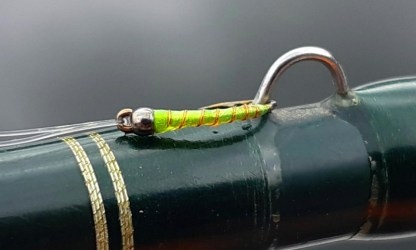 Little Limey Chironomid Pupa Fly