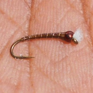 Olive King Olive & Gold Chironomid Pupa Fly