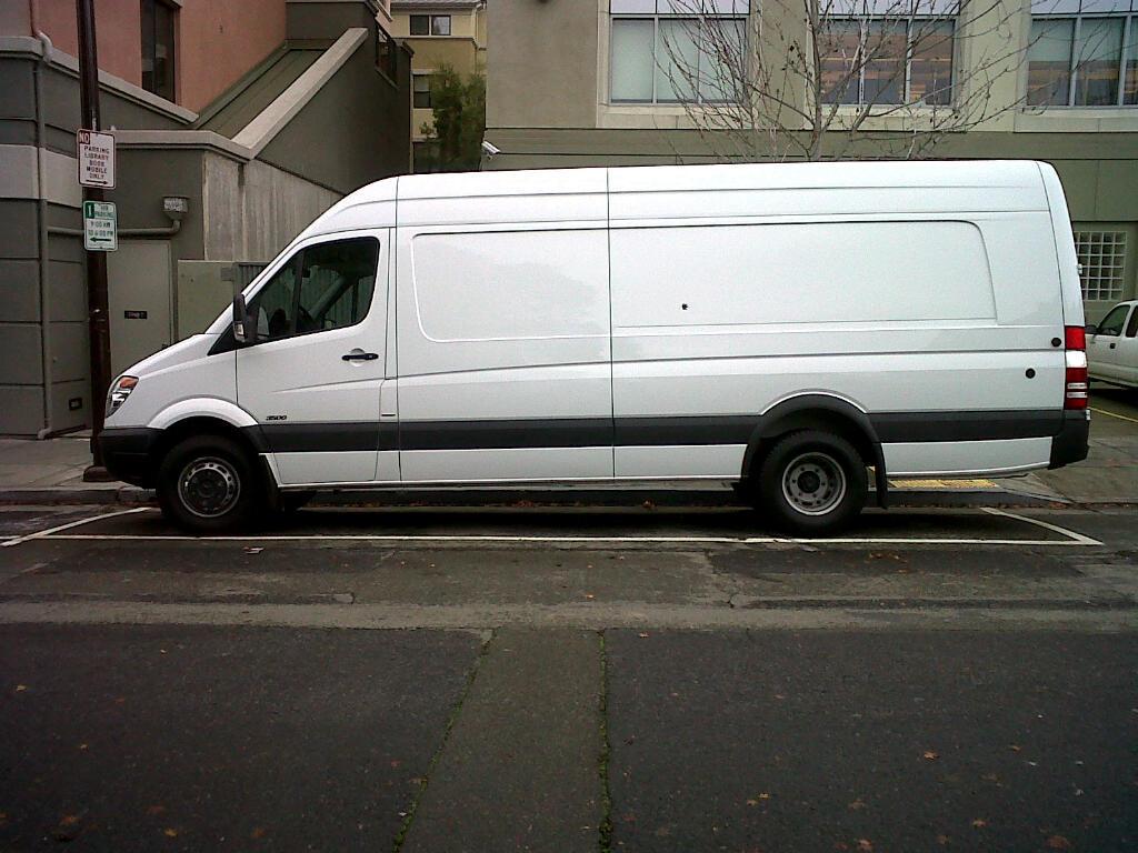 Sprinter Van Before Wrap