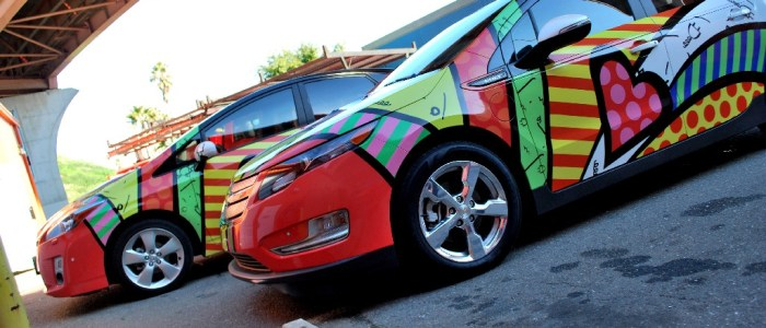 Prius and Volt Vehicle Wraps for Valuec