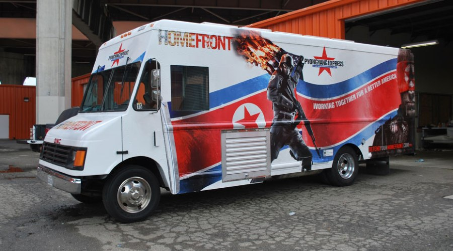 Homefront Promo BBQ Food Truck Wrap