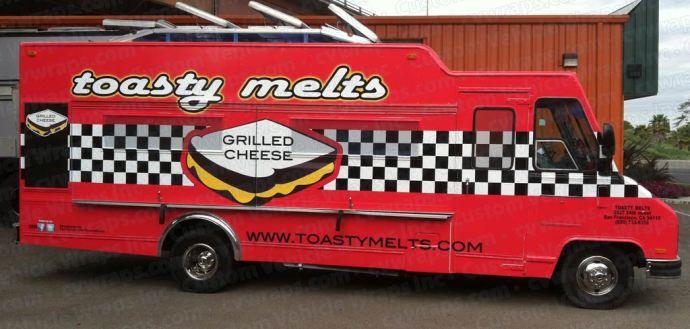 Toasty Melts Food Truck