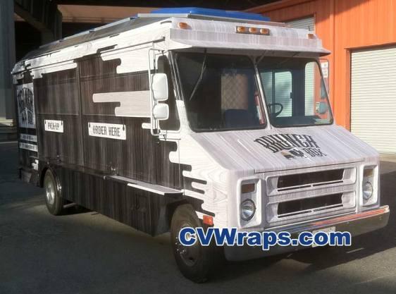 Food Truck Wrap - Brunch Box