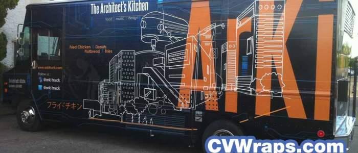 Architect's Kitchen – Arki Food Truck Wrap