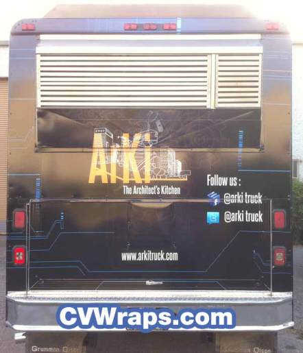 ArKi Food Truck Wrap