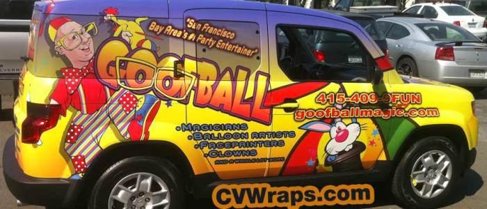 Goofball SF – Car Wrap