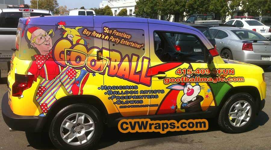 Goofball SF – Car Wrap