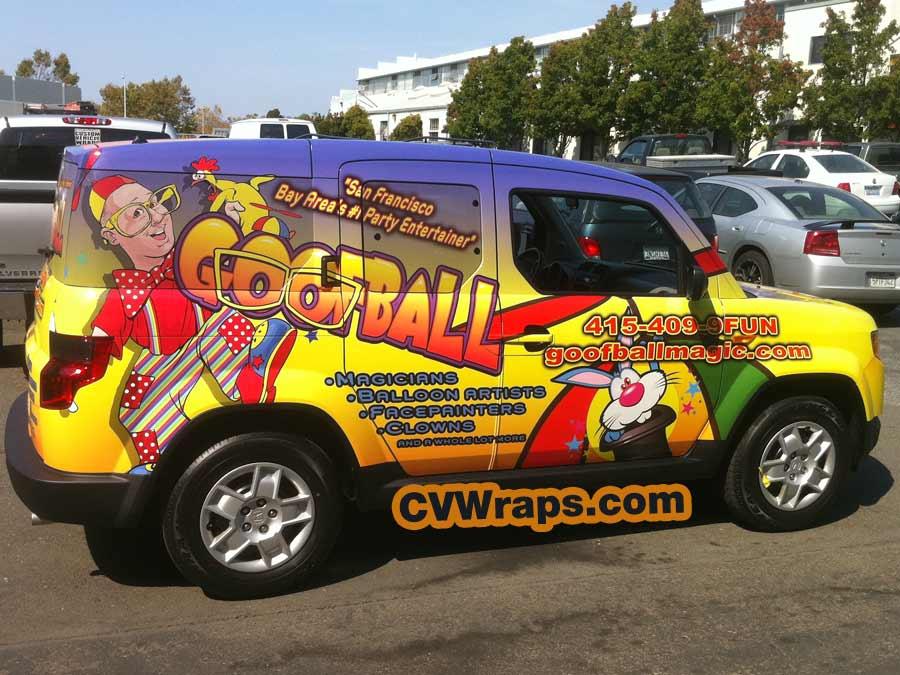 Goofball SUV Wrap