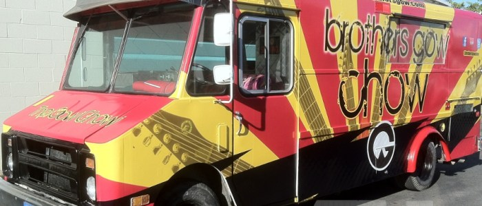 The Brother's Gow Food Truck Wrap – It's Gow Chow!