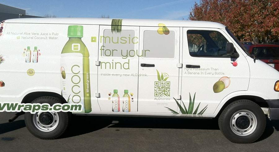 Van Wrapped for Alo Drink