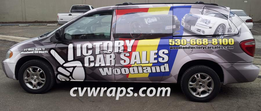 Woodland Van Wrap