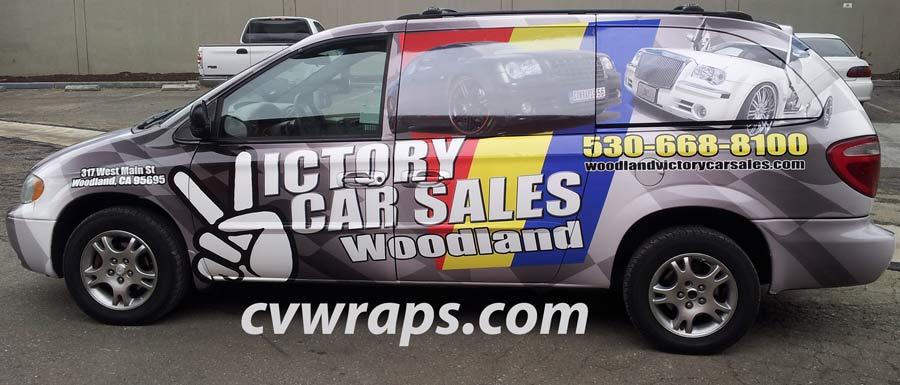 Woodland Van Wrap