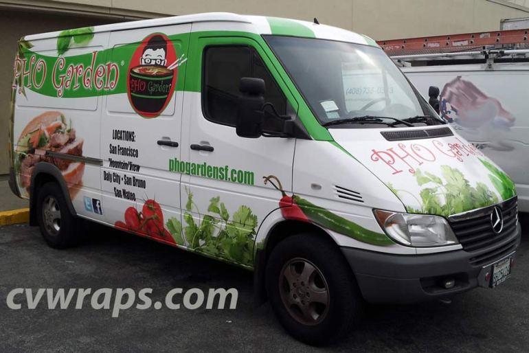 Pho Garden Sprinter Wrap