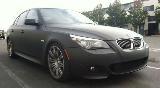 Black Matte Wrap for BMW