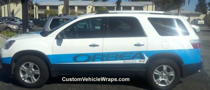 Orbea Promotional Vehicle Wrap