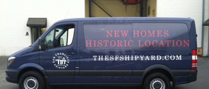 Van Wrap for SF Ship Yard