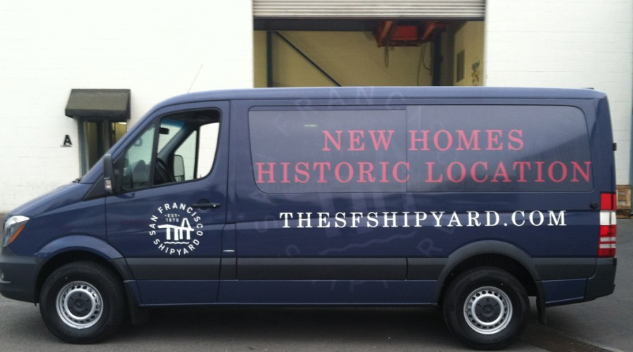 Van Wrap for SF Ship Yard