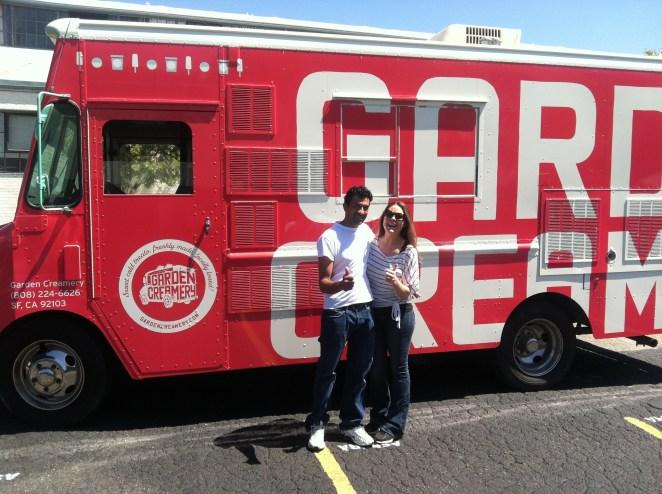Garden Creamery Food Truck