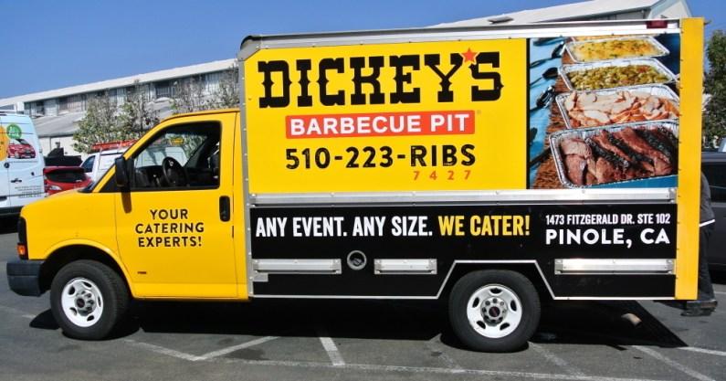 Dickeys Box Truck - Profile Left