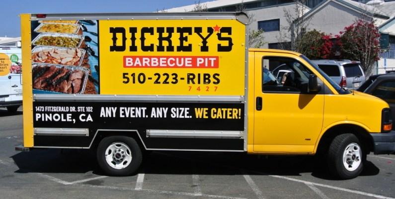 Dickeys Box Truck - Profile Right