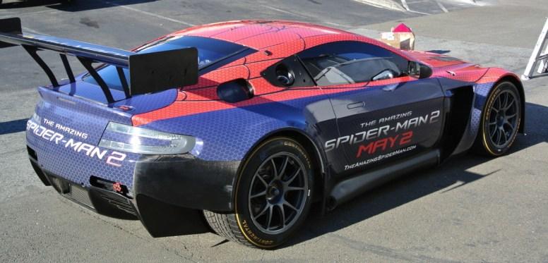 Spiderman Car Wrap Diagonal Back Right