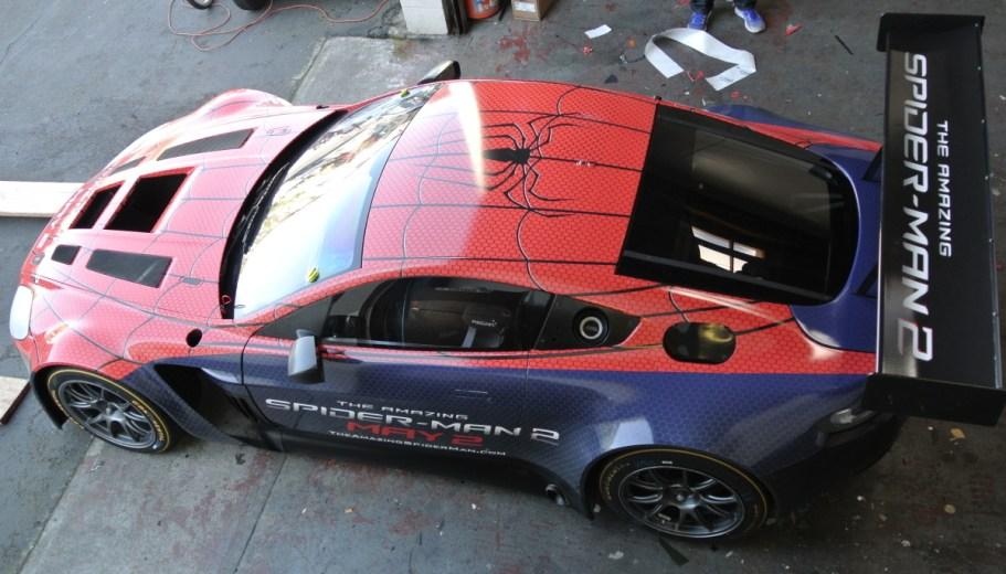 Spiderman Car Wrap Top