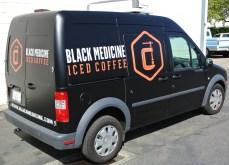 Black Medicine Diag Back