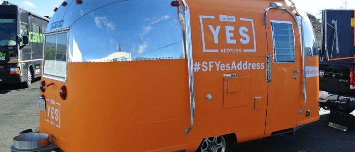 Trailer Wrap for Eventbrtie Marketing #SFYesAddress