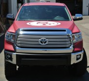 49ers Truck Wrap Front
