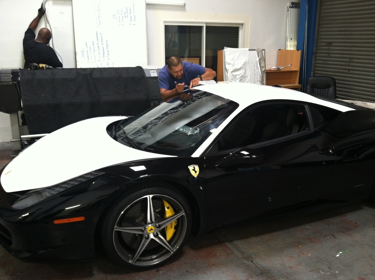 Ferrari Color Change