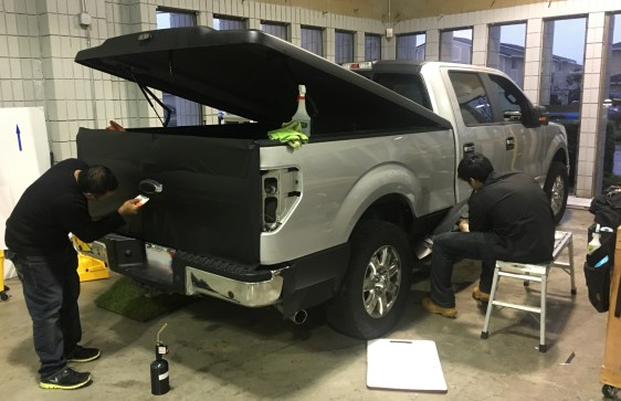 Matte Wrap F Truck on 1994 Ford F 150 Colors