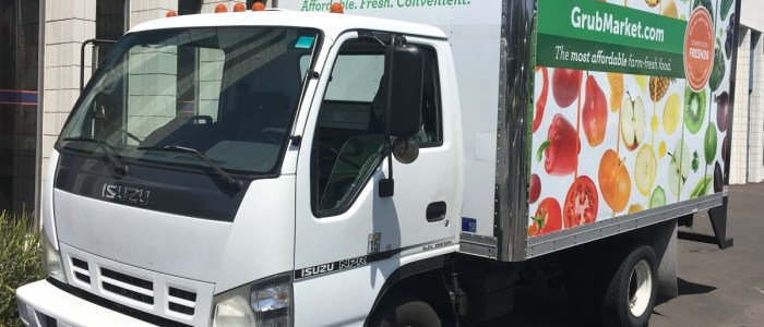 GrubMarket Delivery Truck Wrap