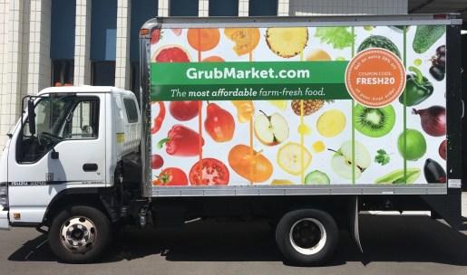 grubmarket truck wrap side