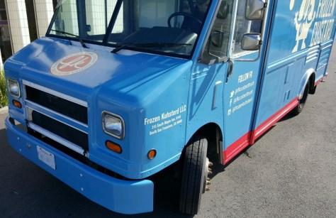 Frozen Custard Food Truck Wrap 2