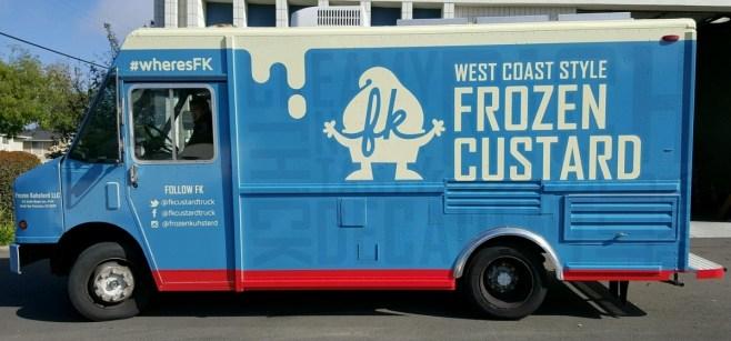 Frozen Custard Food Truck Wrap