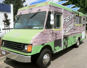 Whole Foods Food Truck Wrap Front