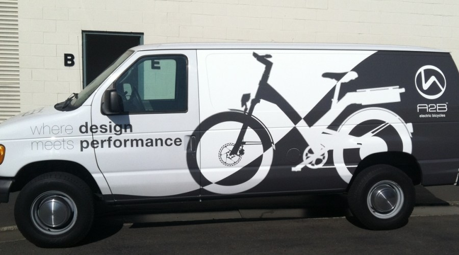 Van Wrap for A2B Electric Bicycles