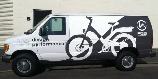a2b van wrap left