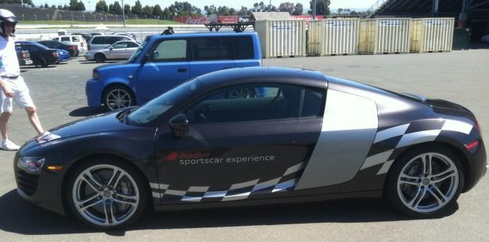 Car Wrap or Audi Sportscar Experience in Sonoma, CA