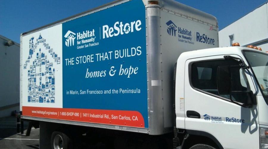 Habitat ReStore Box Truck Wraps