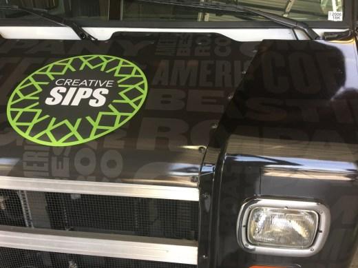 van vehicle graphic hood