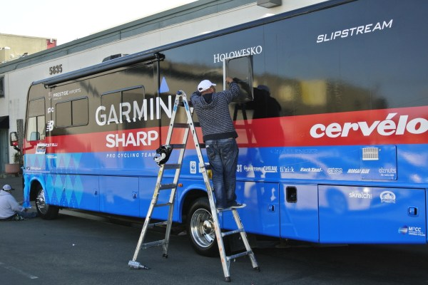Bus Wrap for Garmin-Sharp