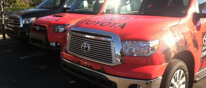 Toyota Car Wraps for China Peak Mountain Resort