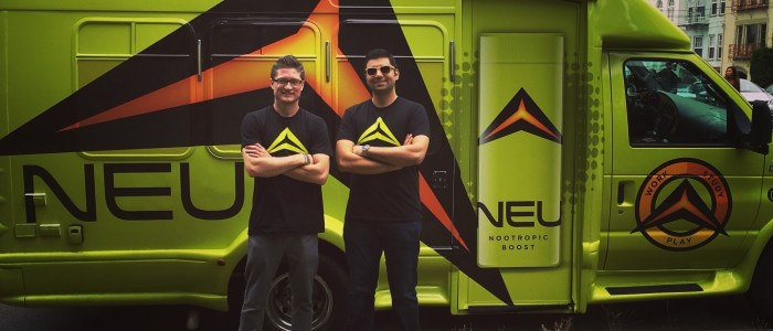 Car Wrap for Neu, Nootropic Energy Drink