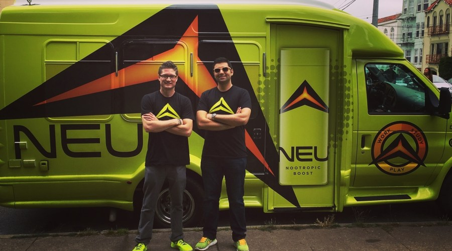 Car Wrap for Neu, Nootropic Energy Drink