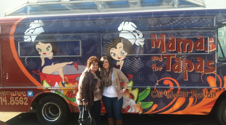 Mamas and the Tapas Food Truck Wrap